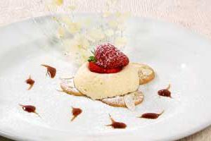 Сливочный десерт «Новый год»
