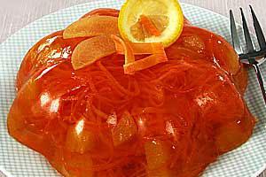 Морковно-абрикосовое желе