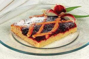 Пирог с клюквой и черносливом