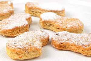 Печенье со шкварками