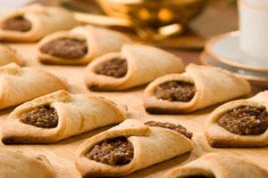 Печенье с кофейно-ореховой начинкой