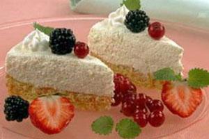 Торт с творожным кремом