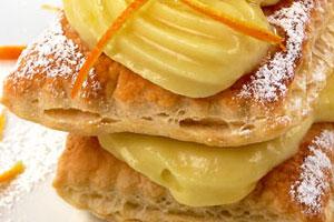 Мини тортики с горчичным медом