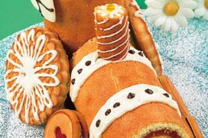 Торт «Паровозик из Ромашкино»