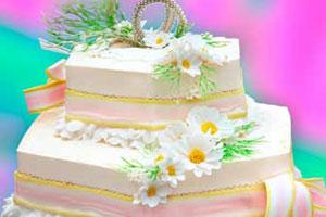 Торт «Серебряная свадьба» (2)