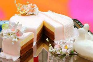 Торт «Серебряная свадьба» (3)