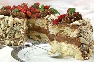 Торт «Земляничка»