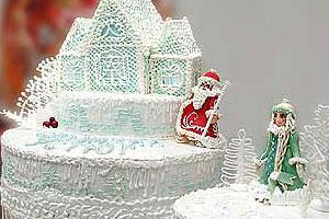 Торт «У Деда Мороза»