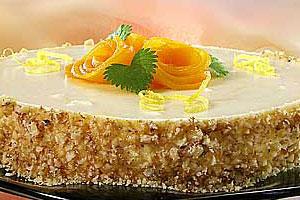 Персиковый торт