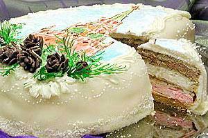 Торт «Кремлевский»