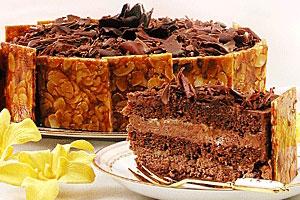 Торт «Трюфель» с лесными орехами