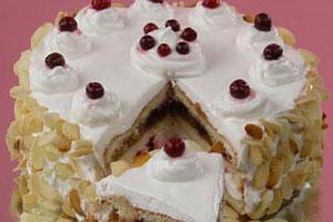 Торт «Клюковка»