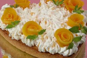 Торт «Персиковый»