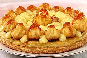 Торт «Сент-оноре» в старинном стиле