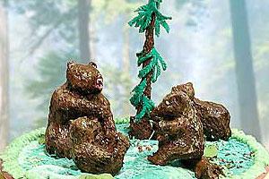 Торт «В лесах Якутии»