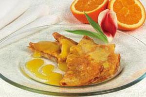 Блинчики по-французски с апельсиновым соусом