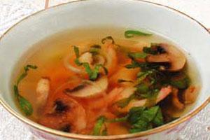 Суп на китайском бульоне
