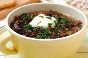 Грибной суп по-деревенски