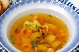 Морской рыбный суп