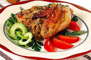 Курица по-мингрельски