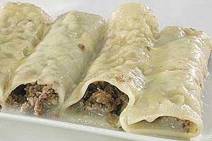 Каннеллони с мясом (2)