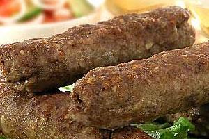 Рубленое мясо на шампурах