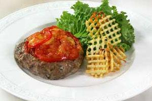 Пикантные «гнезда» из мяса