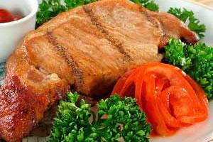 Запеченное мясо «Чай-суй»
