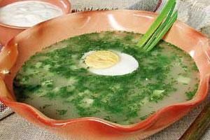 Окрошки, холодные супы