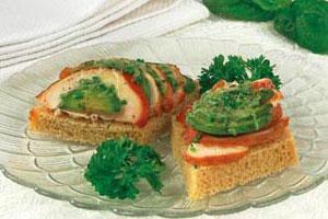 Горячий бутерброд с копченым цыпленком