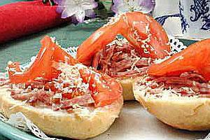 Бутерброды «Веснушка»