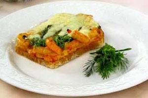 Сырные тосты с креветками (2)