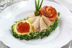 Бутерброды «Ассорти рыбное»