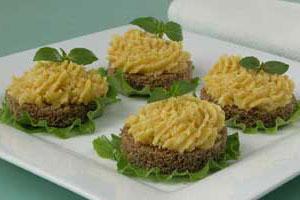 Бутерброды с сыром и тыквой