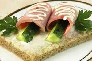 Бутерброд с ветчиной (2)