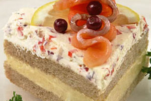 Бутербродный торт «Элитный»