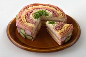 Торт бутербродный по-польски