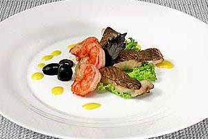 Горячая закуска «Рыбная рапсодия»