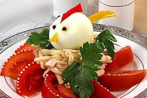 Салат «Петушок»