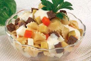 Мясной салат «Пикантный»