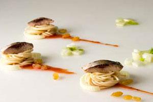 Салат из спагетти