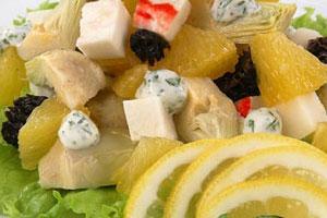 Салат с омарами (2)