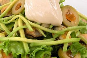 Салат с мидиями (5)