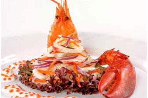 Салат-коктейль с омарами (2)
