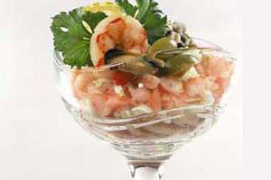 Салат-коктейль «Морской»