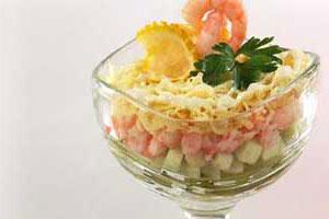 Салат-коктейль с креветками (3)