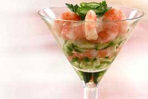 Салат-коктейль «Волна»