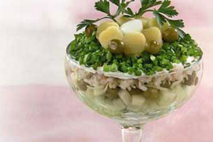 Салат-коктейль «Нептун»