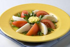 Салат «Цветочная клумба»