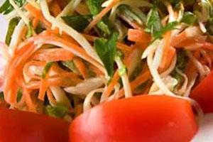 Салат «Лето красное»